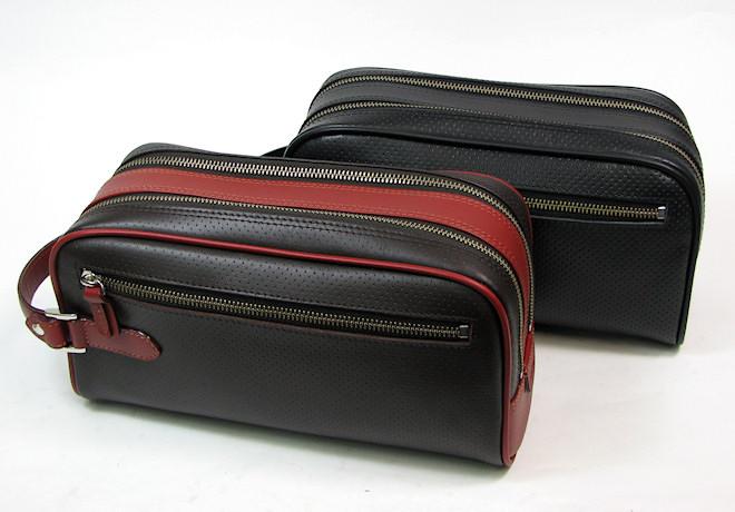 トライオン/本革セカンドバッグ